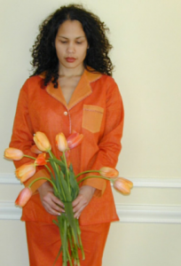 orange reversible PJ's