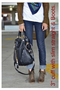 How To Wear Cuffed Jeans   SF's Top
