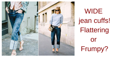 How To Wear Cuffed Jeans | SF's Top Personal Shopper - Michelle Moquin