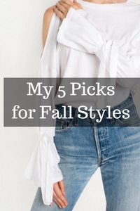 5 favorite style trends for Fall