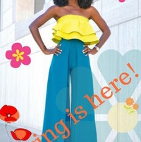 Spring is here with Ruffles!