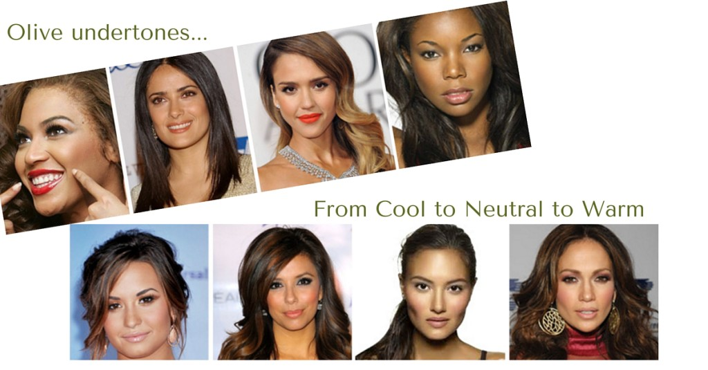 Choosing a skin tone that compliments your own.